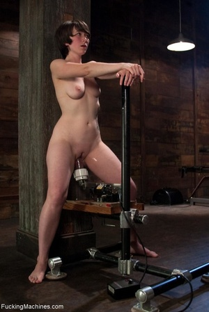 Dark haired cutie is ready to drill her  - XXX Dessert - Picture 13