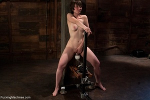 Dark haired cutie is ready to drill her  - XXX Dessert - Picture 14
