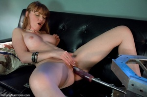 Busty lady with glasses gets her cunt dr - XXX Dessert - Picture 5