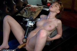 Busty lady with glasses gets her cunt dr - XXX Dessert - Picture 13