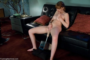 Busty lady with glasses gets her cunt dr - XXX Dessert - Picture 16