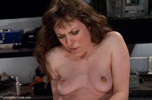 Tied up gal using her vibrator and getti - XXX Dessert - Picture 7