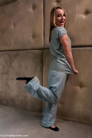 Sweet looking blonde nurse wants to plea - XXX Dessert - Picture 1