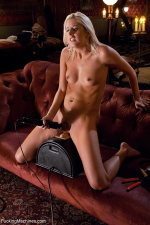 Long legged blonde gal is ready to satis - XXX Dessert - Picture 16
