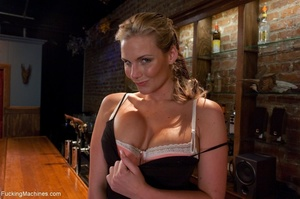 Curvy blonde gal with huge tits drilling - XXX Dessert - Picture 1
