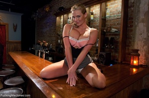 Curvy blonde gal with huge tits drilling - XXX Dessert - Picture 2