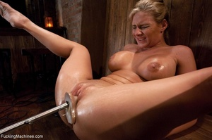 Curvy blonde gal with huge tits drilling - XXX Dessert - Picture 11