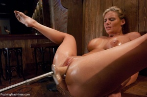 Curvy blonde gal with huge tits drilling - XXX Dessert - Picture 12
