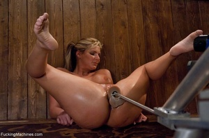 Curvy blonde gal with huge tits drilling - XXX Dessert - Picture 13