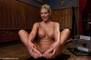 Curvy blonde gal with huge tits drilling - XXX Dessert - Picture 16