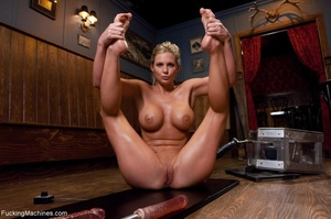 Curvy blonde gal with huge tits drilling - XXX Dessert - Picture 17