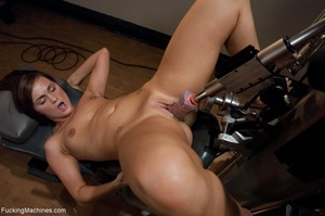 Brunette honey has a freaky workout with - XXX Dessert - Picture 10