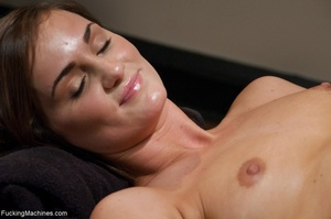 Brunette honey has a freaky workout with - XXX Dessert - Picture 14