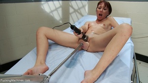 Ginger gal with small titties gets her t - XXX Dessert - Picture 7