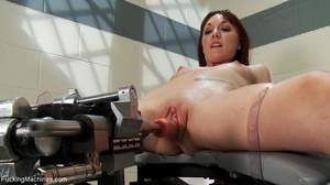 Ginger gal with small titties gets her t - XXX Dessert - Picture 10