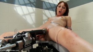 Ginger gal with small titties gets her t - XXX Dessert - Picture 12