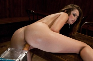 Sweet young chick gets her smooth cunt d - XXX Dessert - Picture 9