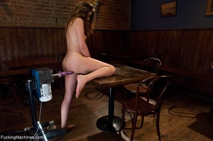 Sweet young chick gets her smooth cunt d - XXX Dessert - Picture 16