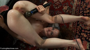 Curly haired brunette girl wants to sati - XXX Dessert - Picture 7