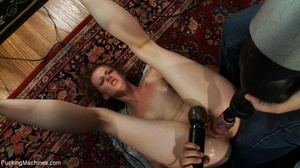 Curly haired brunette girl wants to sati - XXX Dessert - Picture 9