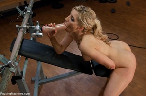 Blonde babe with a natural body gets dri - XXX Dessert - Picture 3