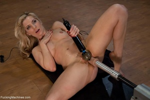 Blonde bitch needs so many sex toys to s - XXX Dessert - Picture 12