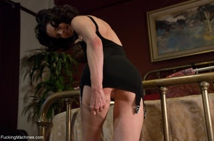 Freaky raven haired MILF just wants to d - XXX Dessert - Picture 2