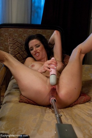 Freaky raven haired MILF just wants to d - XXX Dessert - Picture 14