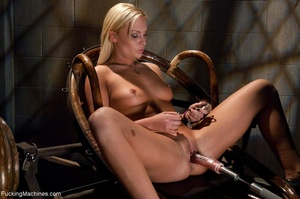 Passionate blonde with a fine body gets  - XXX Dessert - Picture 2