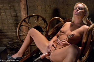 Passionate blonde with a fine body gets  - XXX Dessert - Picture 4