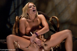 Passionate blonde with a fine body gets  - XXX Dessert - Picture 11