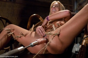 Passionate blonde with a fine body gets  - XXX Dessert - Picture 12