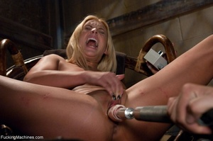 Passionate blonde with a fine body gets  - XXX Dessert - Picture 14