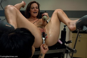 Two dark haired sluts are eager for some - XXX Dessert - Picture 10