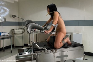 Freaky tattooed brunette using many sex  - XXX Dessert - Picture 14