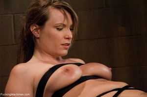 Tied up blonde honey getting her smooth  - XXX Dessert - Picture 4