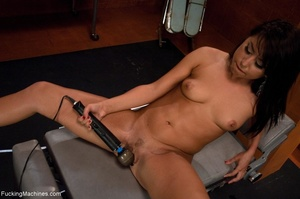 Brunette with a curvy body loves to get  - XXX Dessert - Picture 7