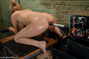Blonde gal with huge titties gets wet an - XXX Dessert - Picture 11