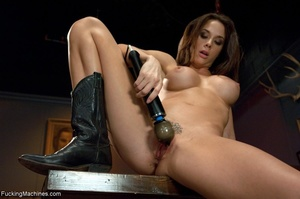 Cowgirl with nice natural titties fools  - XXX Dessert - Picture 11