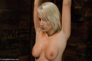 Sweet blondie gets tied up and drilled w - XXX Dessert - Picture 5