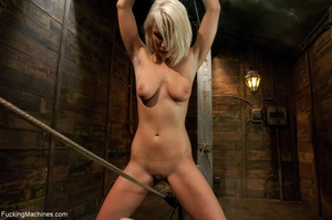 Sweet blondie gets tied up and drilled w - XXX Dessert - Picture 6