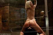 sweet blondie gets tied