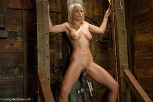 Sweet blondie gets tied up and drilled w - XXX Dessert - Picture 12