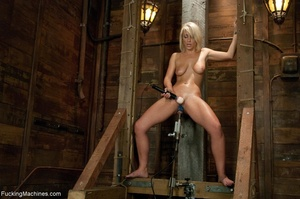 Sweet blondie gets tied up and drilled w - XXX Dessert - Picture 13