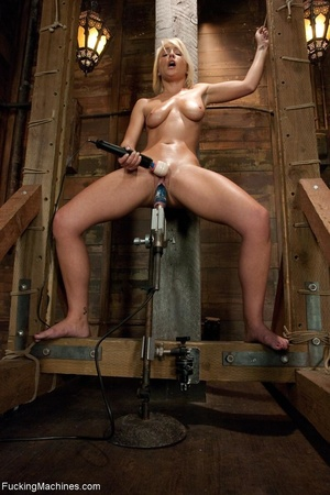 Sweet blondie gets tied up and drilled w - XXX Dessert - Picture 14
