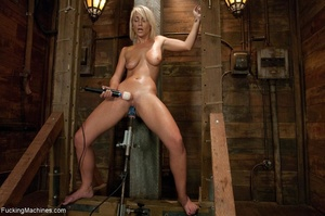 Sweet blondie gets tied up and drilled w - XXX Dessert - Picture 15
