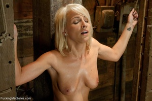 Sweet blondie gets tied up and drilled w - XXX Dessert - Picture 16