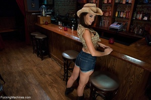 Cowgirl with a trimmed cunt gets rammed  - XXX Dessert - Picture 1