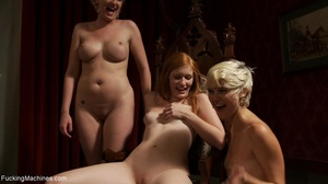 Three petite bitches having a nasty sess - XXX Dessert - Picture 18