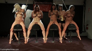Four super hot bitches are into squirtin - XXX Dessert - Picture 12